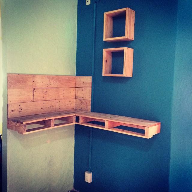 Repisas pimecarpinteriaalternativa muebles repisas - Tarima para cocina ...