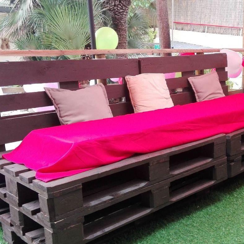 Me encantan los muebles hechos con palets for Muebles terraza palets